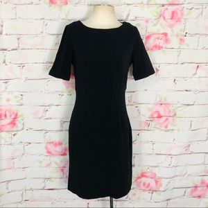 Boston proper short sleeve little black dress